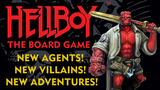 Hellboy: The Board Game Expansions and Dice Game thumbnail