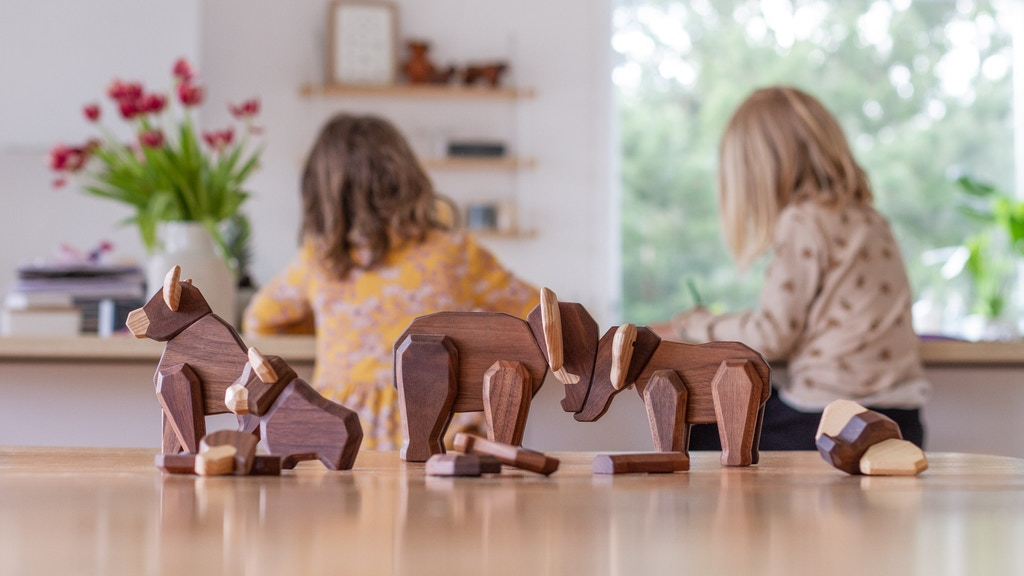 FableWood - 4th Generation of the Magnetic Wooden Animals