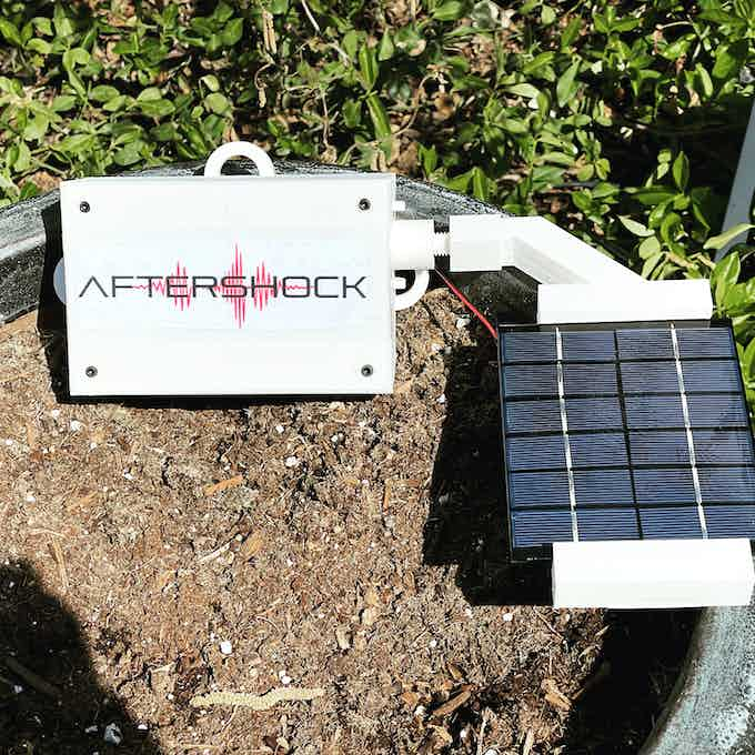 AfterShock Prototype Heading for the San Andreas Fault