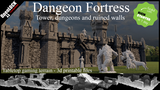 Dangeon Fortress - 3d printable set of models thumbnail