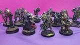 Neo-Gothic heavy infantry sci-fi miniatures thumbnail