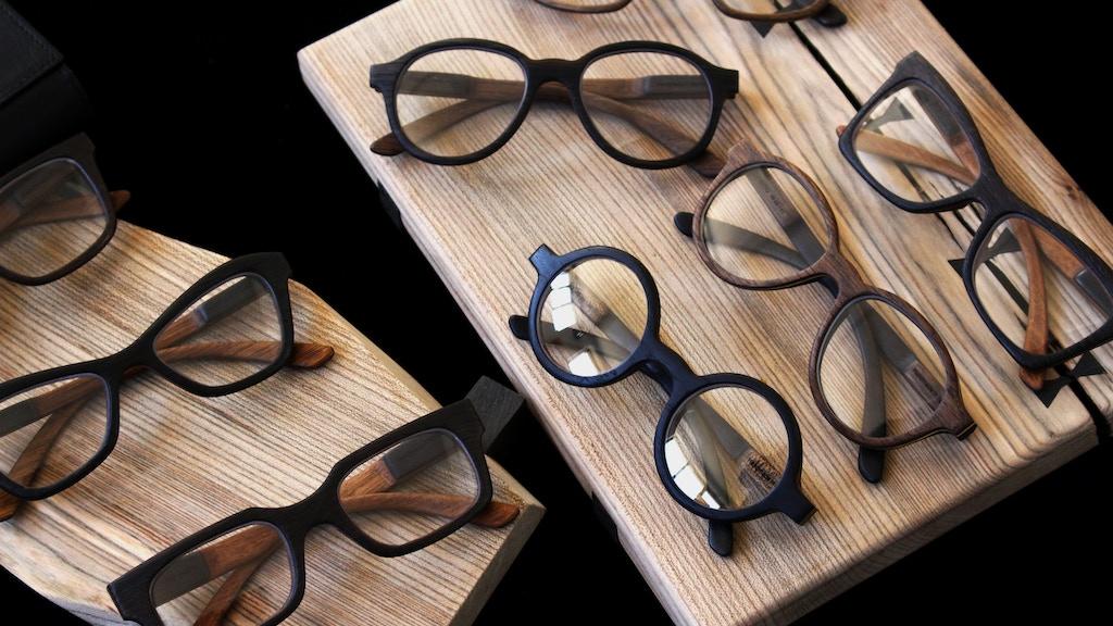 SAURUS COLLECTION | Precious Bog Oak Wooden Eyewear
