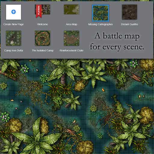 Battle maps for every scene