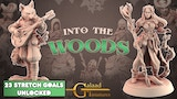 Into the woods, 3D printable miniatures thumbnail