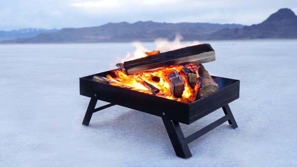 Adjustagrill - Portable Fire Pit