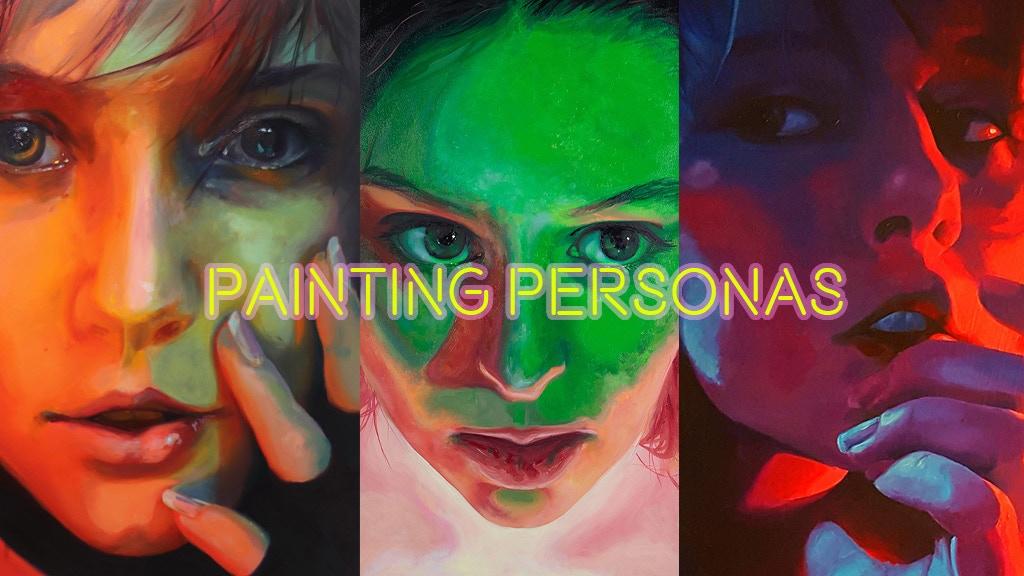 Painting Personas: Neon Light Portraits