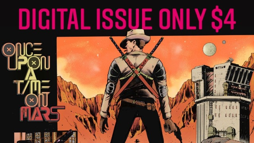 Once Upon a Time on Mars: Space Western(in landscape format)