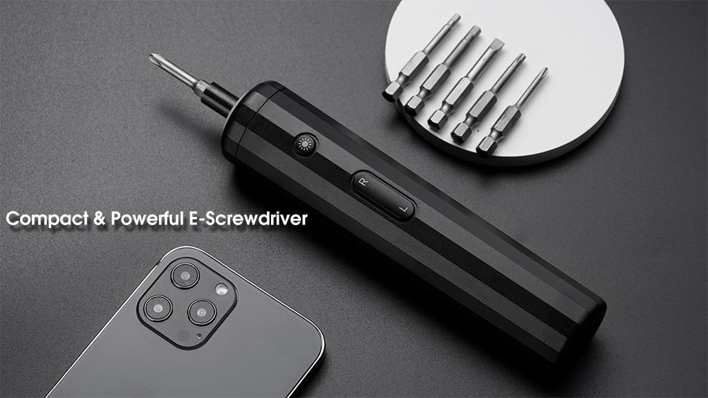 Yiptan:The Minimalist & Powerful Cordless Home E-Screwdriver