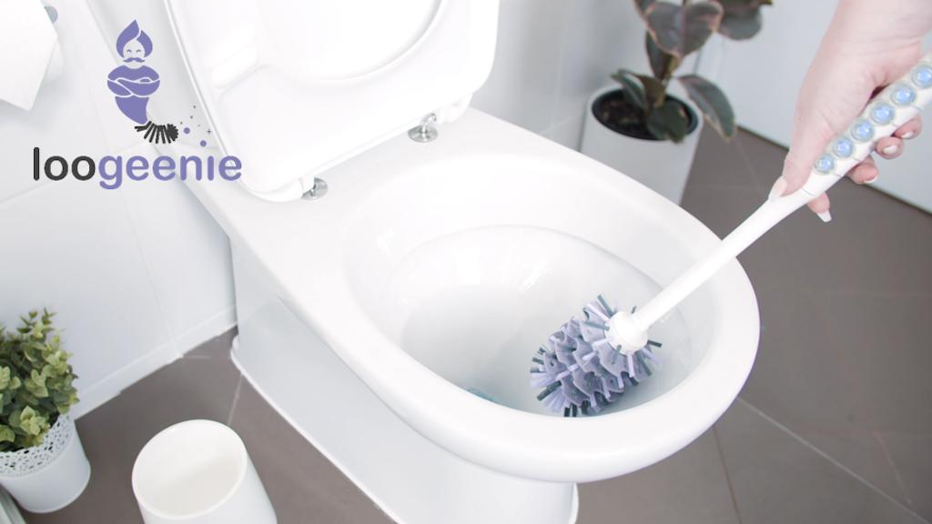 LOOGEENIE: Toilet Brush - Cleans & Sanitises