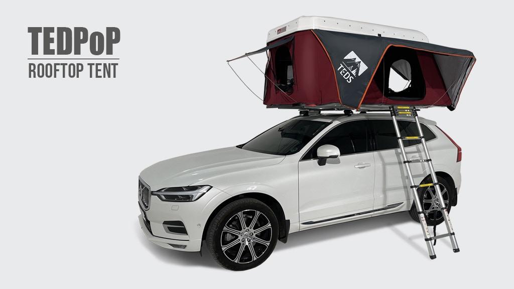 TEDPoP: World's First Pop-Up Dual Expandable Rooftop Tent