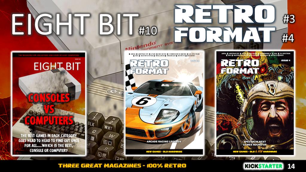 Eight Bit Issue 10 & Retro Format Issue 3 + 4