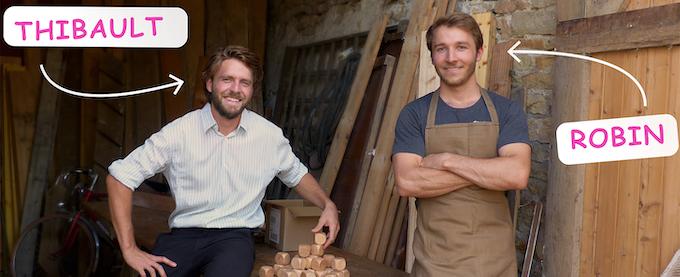 Thibault & Robin, deux frères à la tête de la première entreprise au monde de dé personnalisables pour les particulier.