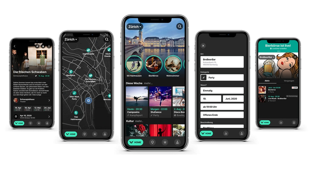 Vaenner One App For All Events In Your Area By Vaenner Kickstarter