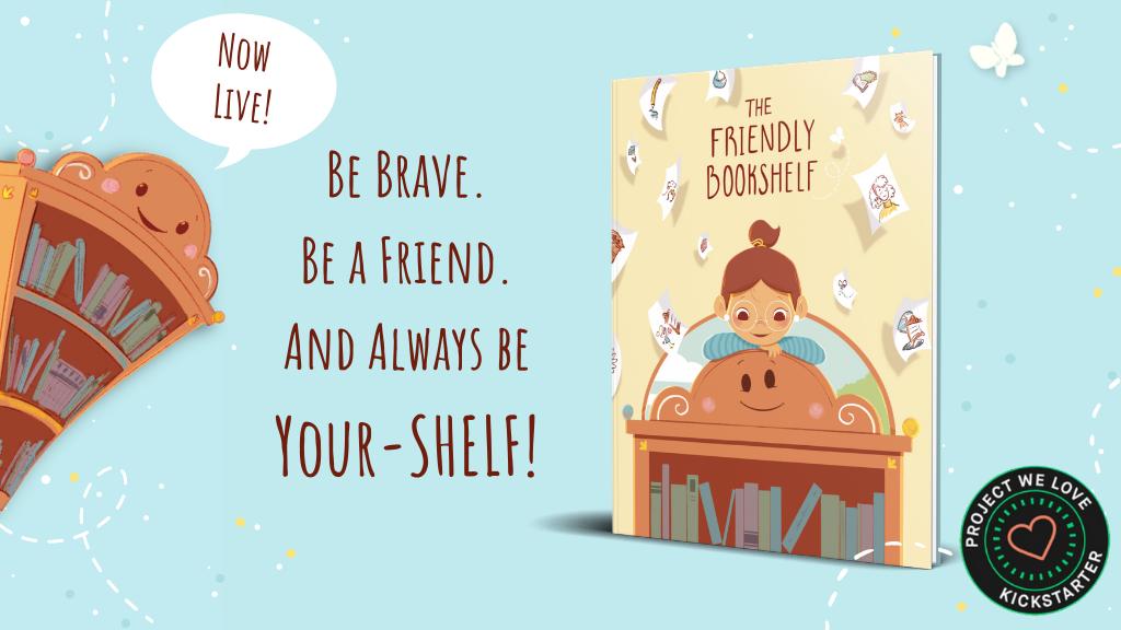 The Friendly Bookshelf: A Children's Picture Book