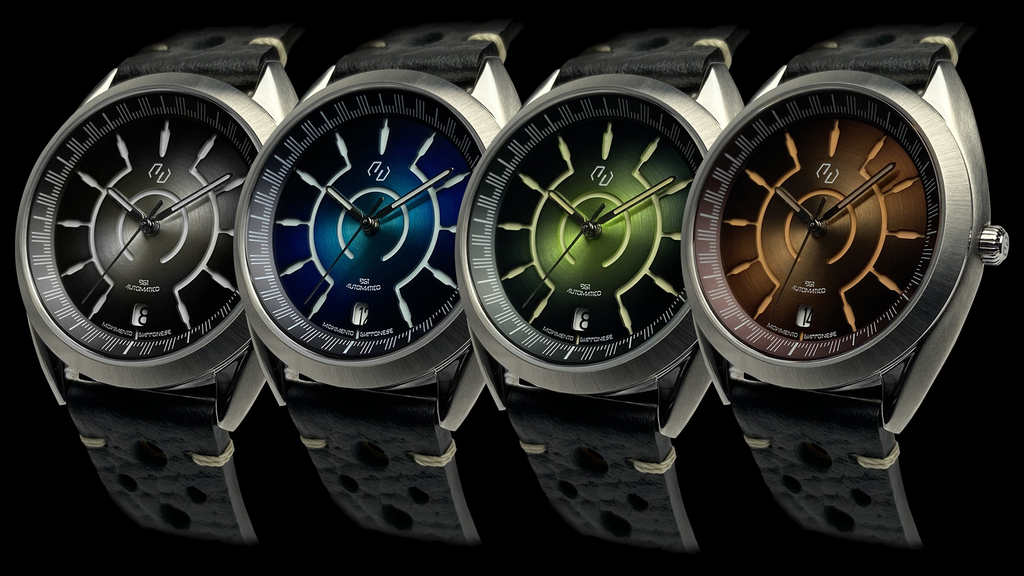 Segmento Watches | LINEA '961: Pure Italian Design