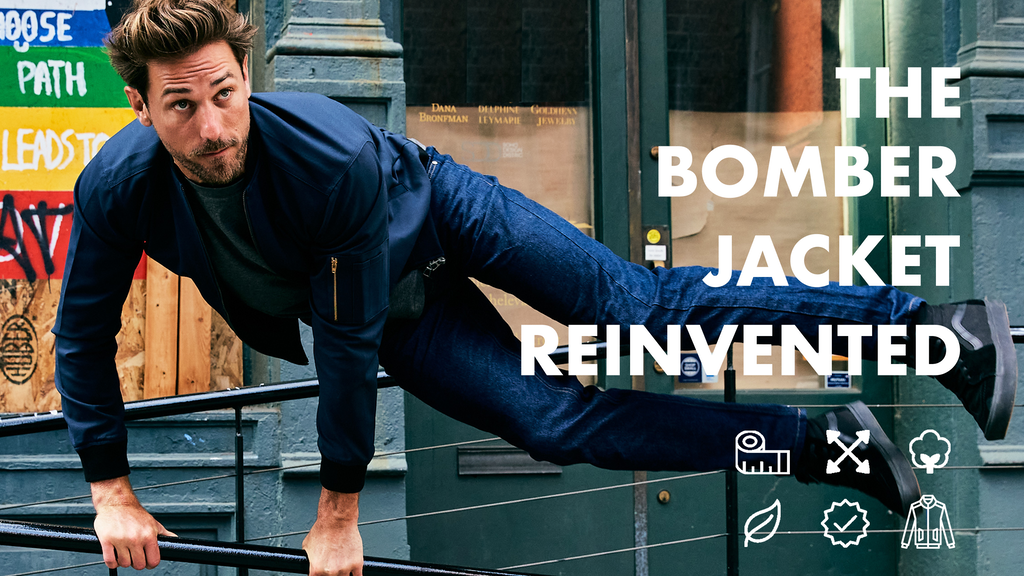 The Bomber Jacket, Reinvented.