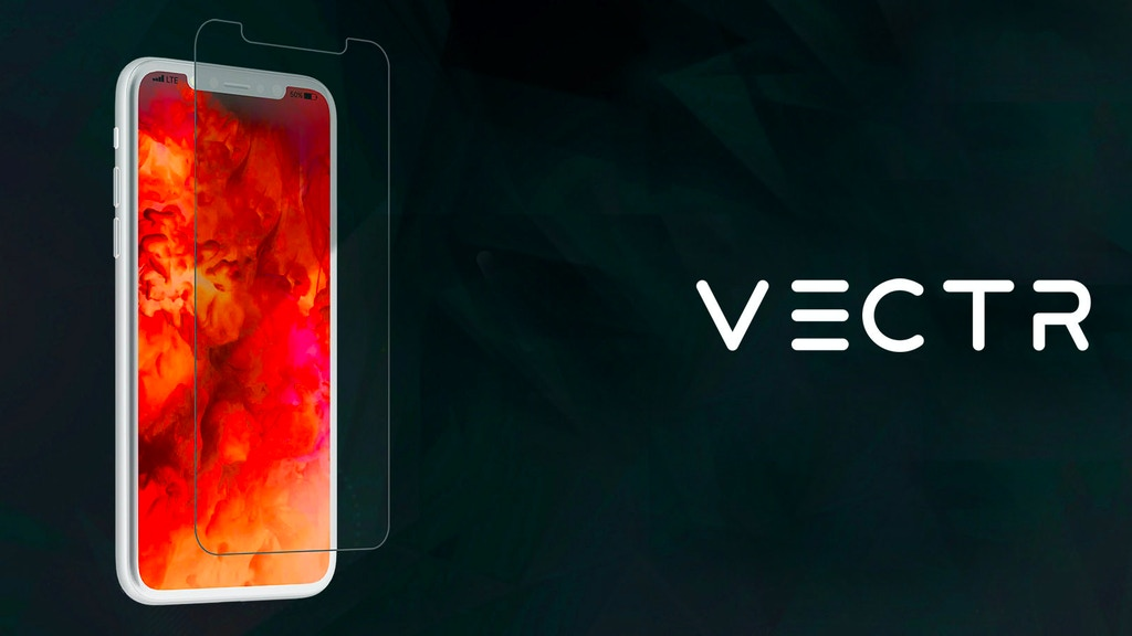 VECTR - 5X Screen Protector For The iPhone