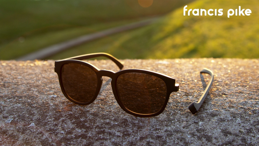 Francis Pike - The Unbreakable Magnetic Sunglasses
