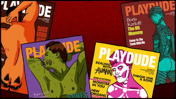 Monster Meat 2: a gay zine inspired by vintage magazines