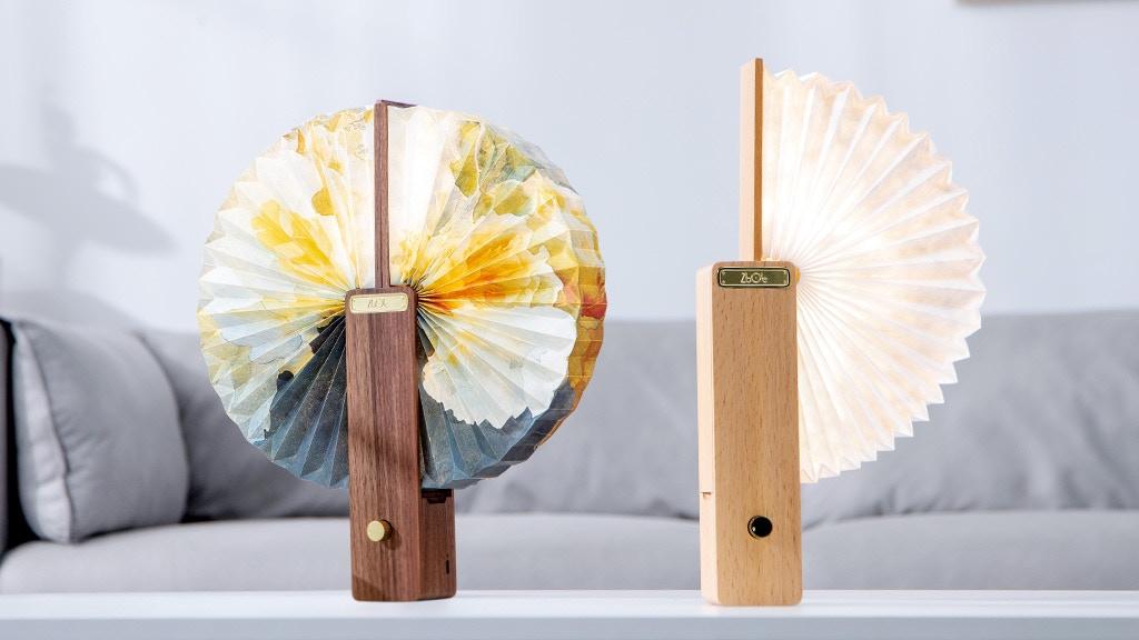 OMLAMP-Waterproof folding paper lamp with brightness