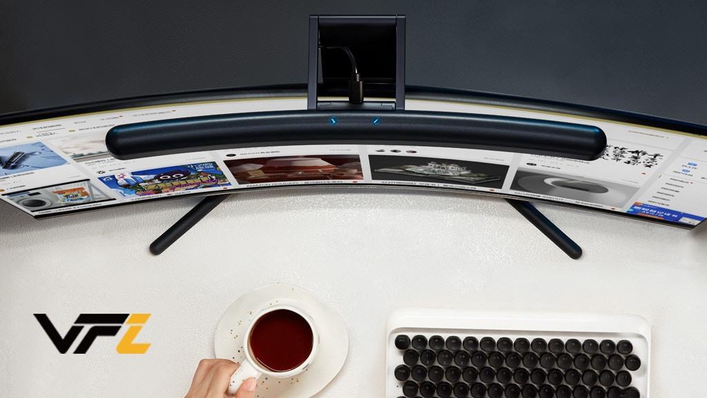 VFZ Curved Light Bar—Adjustable Light for Computer Monitors