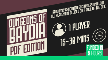 Dungeons of Baydia