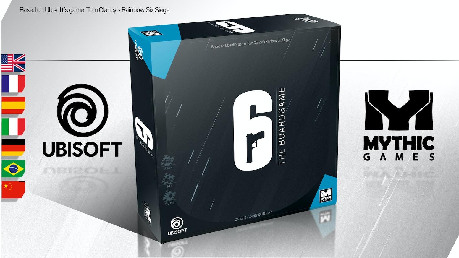 6: Siege – The Board Game Kickstarter campaign