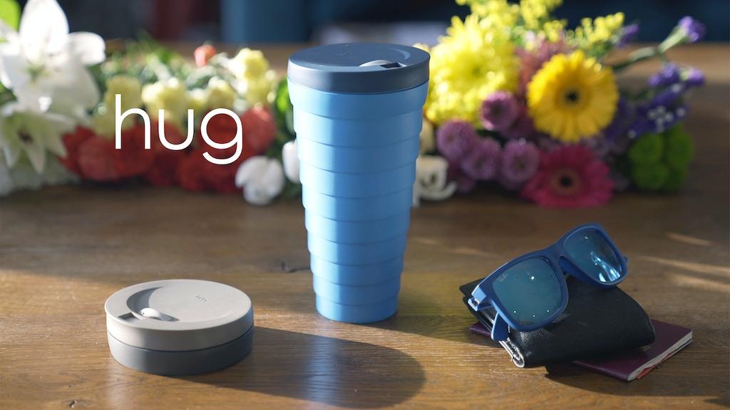 hug - the insulated collapsible mug