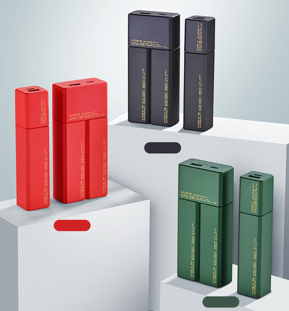 World's First Batteries Exchangeable Power Bank
