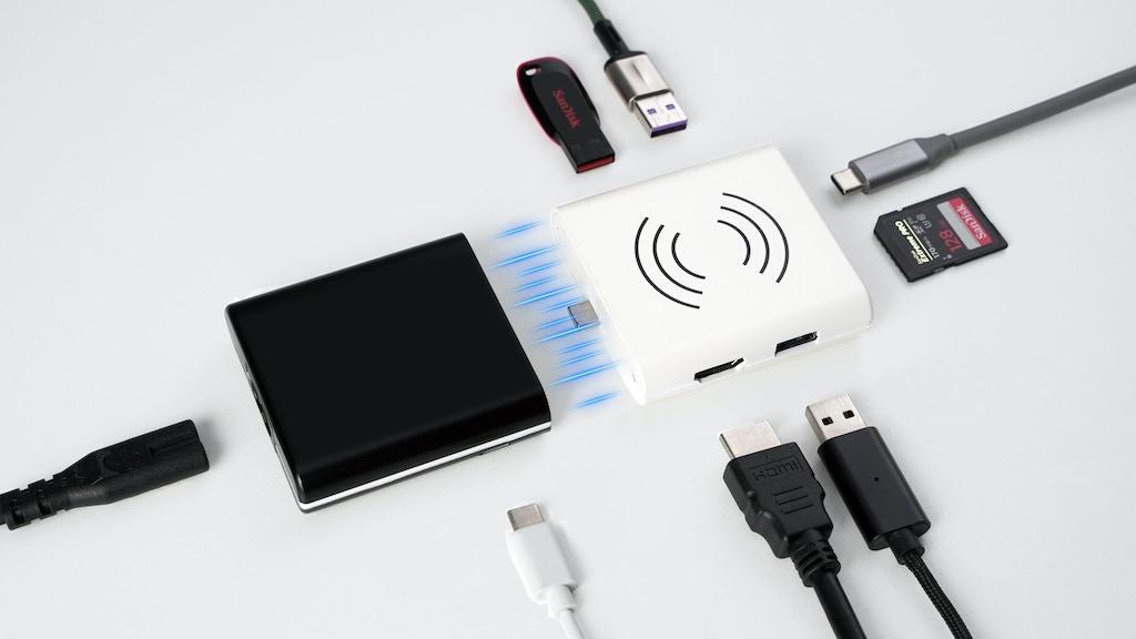 ComboHub: The World's 1st Split-Apart Laptop Hub + Adapter