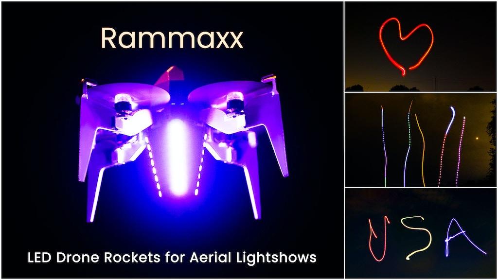 Rammaxx - LED Drone Rocket Aerial Lightshows