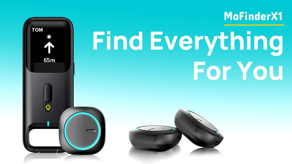 MoFinderX1 GPS Tracker - Find Anything and Everything