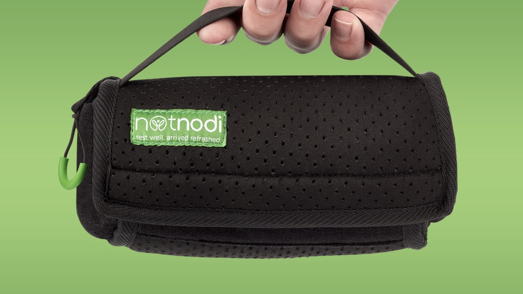NotNodi® - The travel pillow that's not just a pillow
