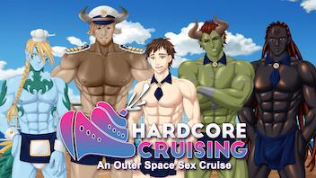Hardcore Cruising: 18+ Gay LGBTQ+ Yaoi Bara BL Visual Novel