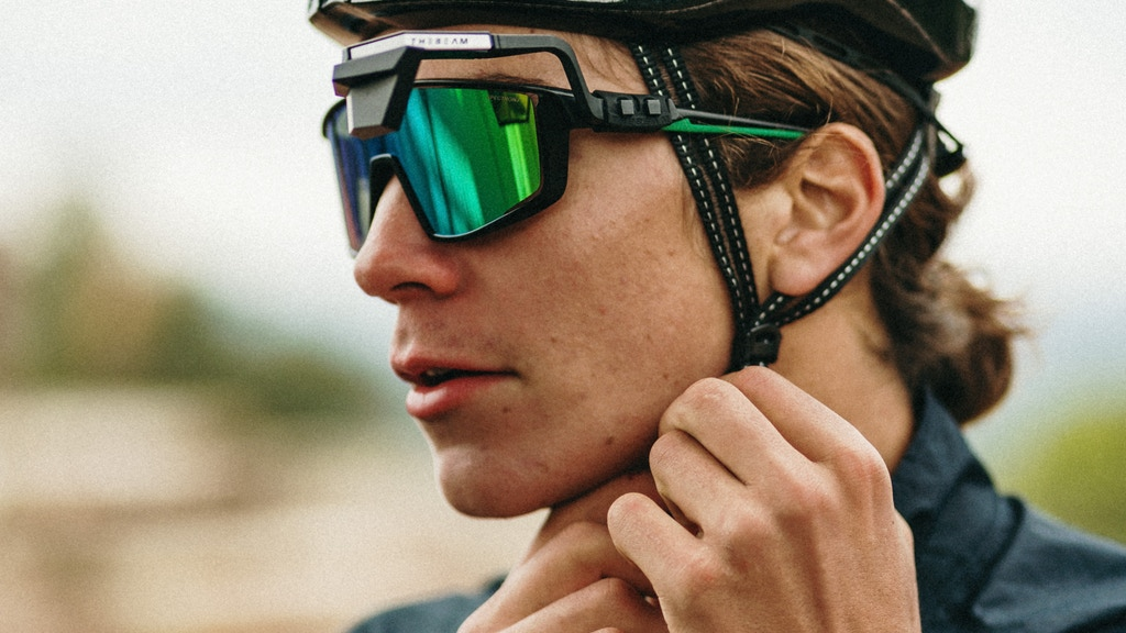 CORKY X   Sunglasses-mounted Rear-view Mirror for Cycling