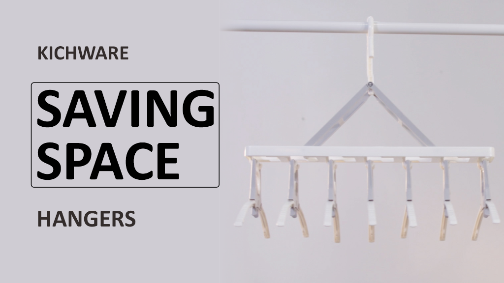 Kichware -Saving Space Hangers