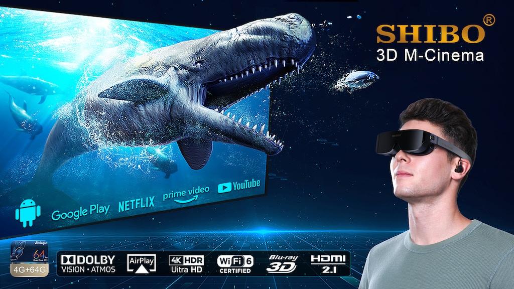 SHIBO 5K 3D M-Cinema Glass