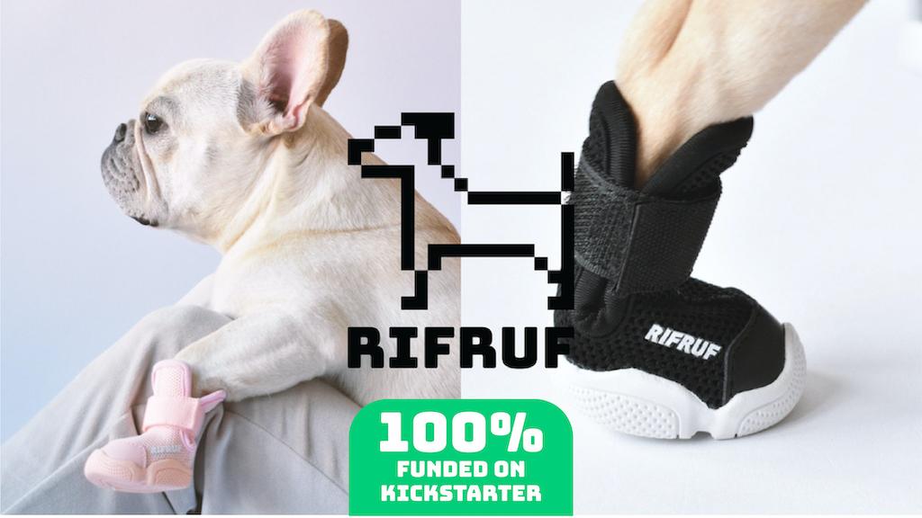RIFRUF: The Sneaker Your Dog Deserves