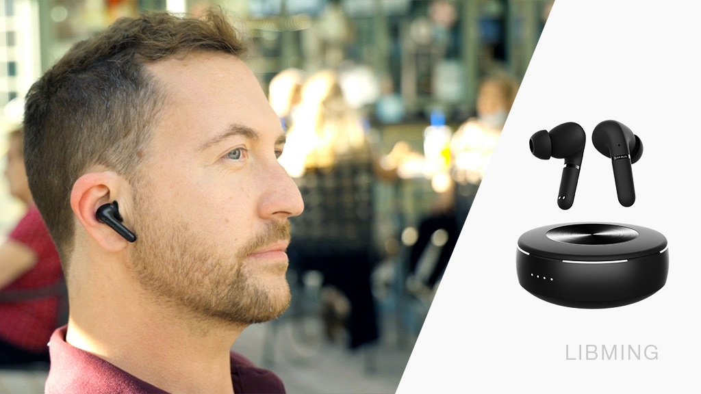 LIBMING: 6-Mic Hybrid ANC+ENC Earbuds w/ True Wireless BT5.2