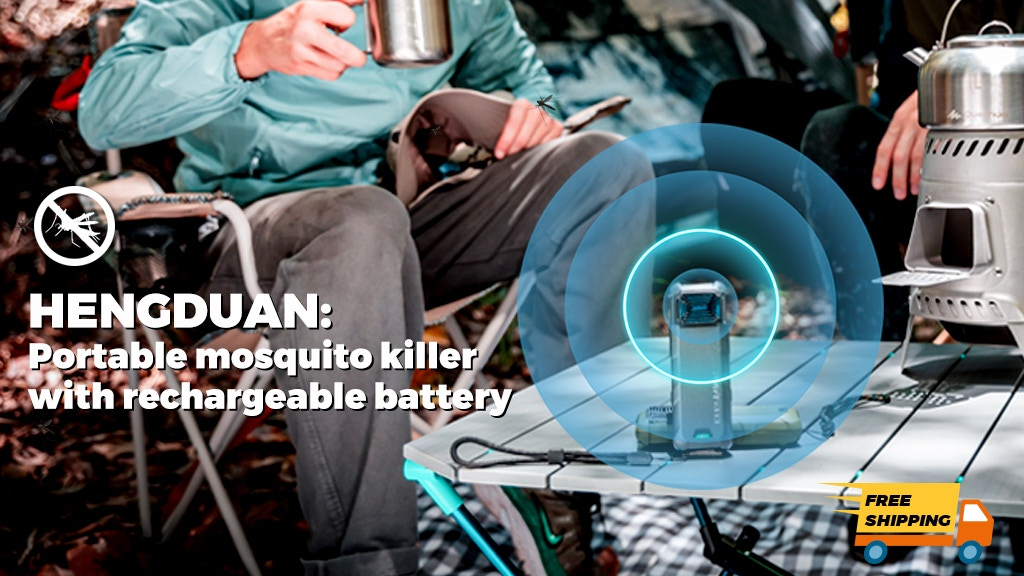 HENGDUAN|Portable mosquito killer with rechargeable battery