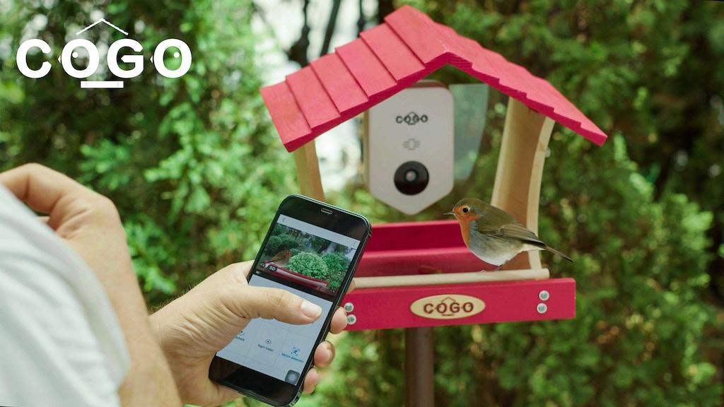COGO Smart Bird House - APP Remote Control