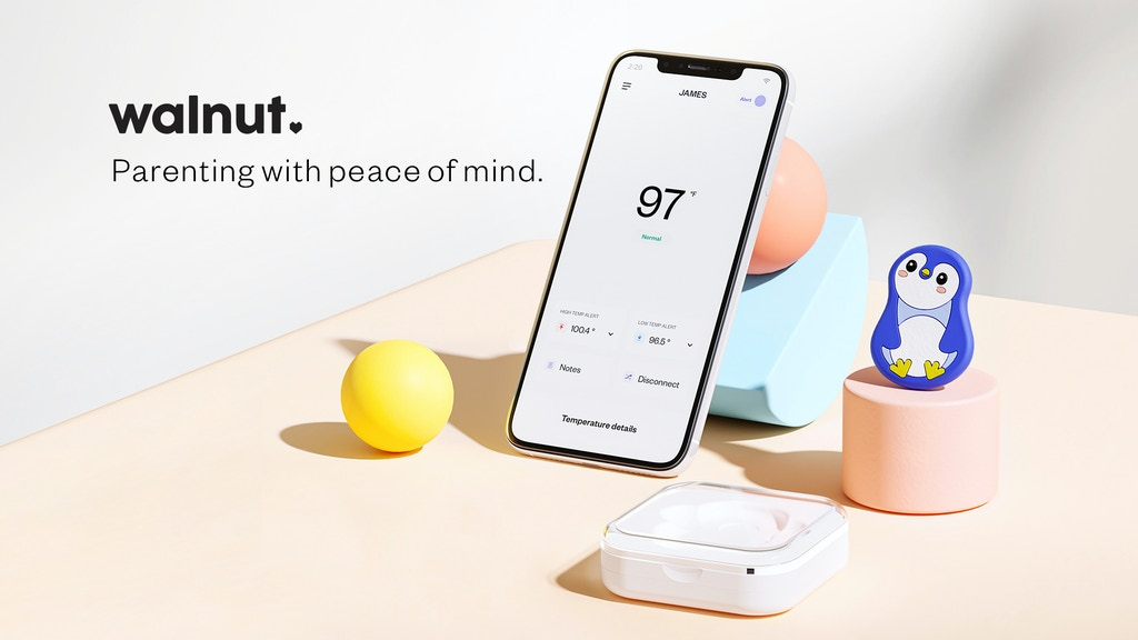 Walnut Thermal: The Smart Wireless Thermometer
