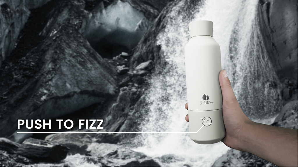 Bottle+: Create Sparkling Water Anytime & Anywhere