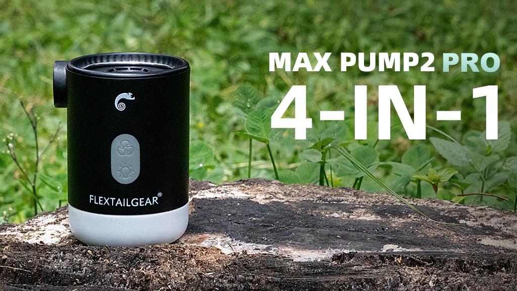 MAX PUMP2 PRO: 4-in-1 ULTIMATE PORTABLE OUTDOOR PUMP