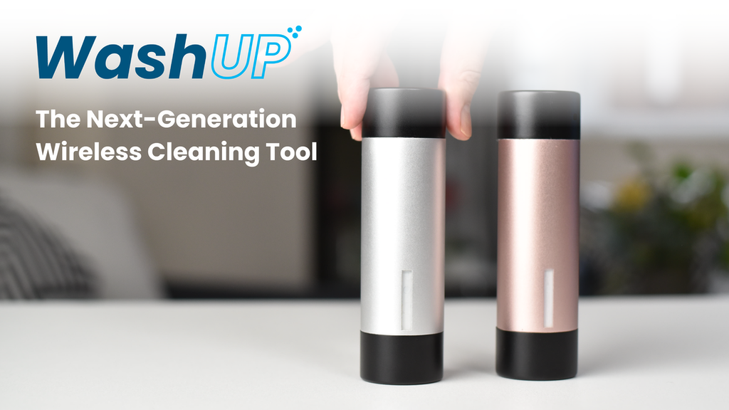 WashUP - The Next-Generation Wireless Cleaning Tool