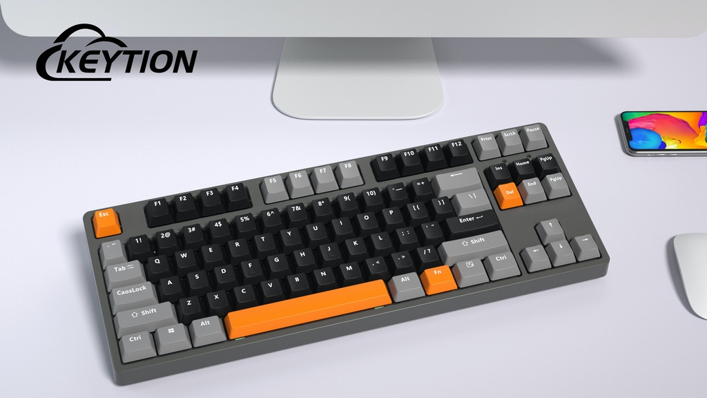 Keytion: The Most Powerful Mechanical Keyboard for Gaming