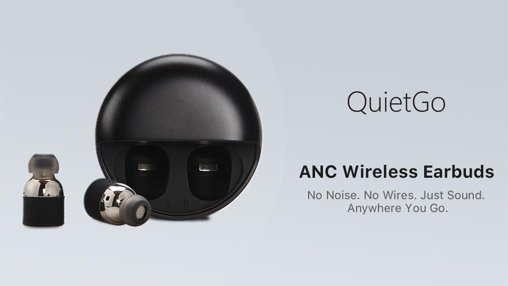 QuietGo: Hybrid ANC Earbuds w/ Transparency Mode