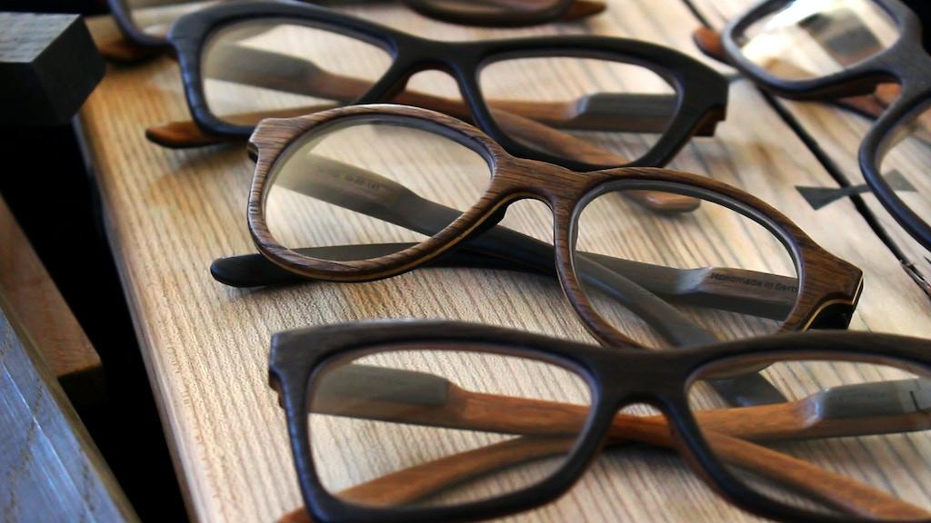 Lou di Lo Eyewear   Precious Bog Oak Wooden Eyewear