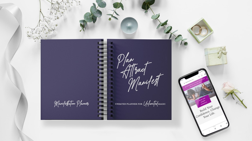 Make Your Success Easy with the Guided Manifestation Planner
