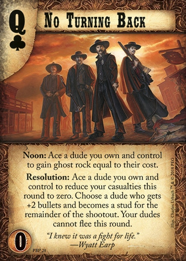 Image of the Doomtown Reloaded card No Turning Back